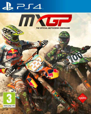 MXGP The Official Motocross Videogame PS4 Playstation 4 MILESTONE