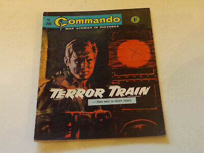 Commando War Comic Number 209,1966 Issue,good For Age,51 Years Old,very Rare.