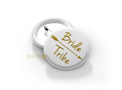 BRIDE Tribe 58mm Button Badge - BRAND NEW