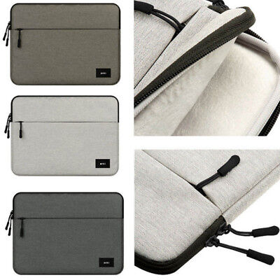 """Carry Laptop Sleeve Case Pouch Bag For 14"""" 15"""" 15.6"""" Dell Lenovo HP Mac NoteBook"""