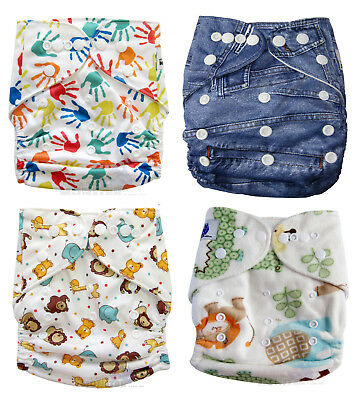 Modern Cloth Nappies (MCN) Trial Pack, Mircrofibre inserts Unisex diaper OSFM