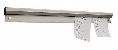 "Aluminium Tab Order Grabber Bill Tickets Waiter Food Pad Wall 24"" Inches"