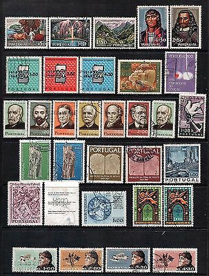 PORTUGAL - Mixed lot of 32 Stamps, most Good Used - Mint, LH