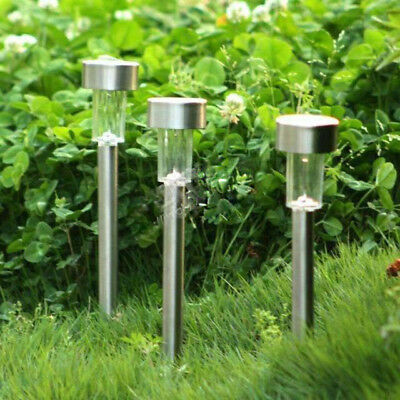 10pcs/lot Outdoor Waterproof LED Solar Garden Lights Landscape Stake Lawn Light