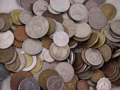 437 World Coins Over 4 Pounds Unsearched More New Coins Added  Now 442 Coins