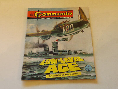 Commando War Comic Number 480,1970 Issue,v Good For Age,47 Years Old,very Rare.
