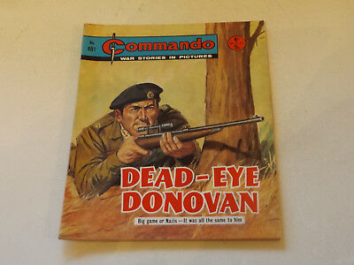 Commando War Comic Number 481,1970 Issue,v Good For Age,47 Years Old,very Rare.