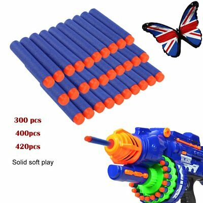 Best Gun Soft Refill Bullets Darts Round Head Elite Blasters Nerf N-Strike Toy