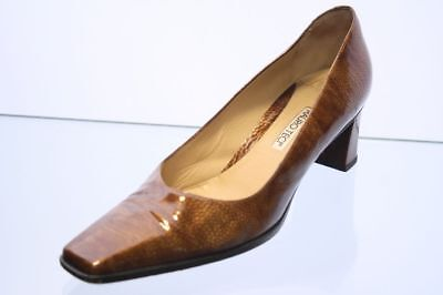 Klassischer Lack Pumps Gr. 40 Made in Italy by Mauro Teci