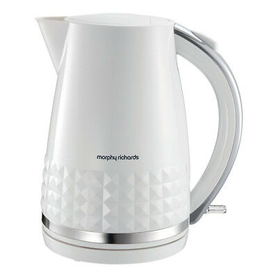 Morphy Richards 108263 Dimensions Jug Kettle 1.5L White - Brand New