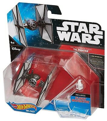 Hot Wheels Star Wars The Force Awakens Starship Special Forces - Tie Fighter