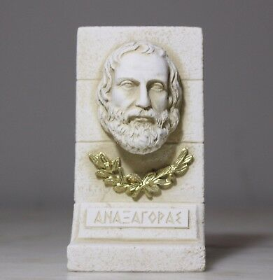 Anaxagoras Head Bust Statue Greek Ancient Philosophy Art Decor Sculpture 5th BC