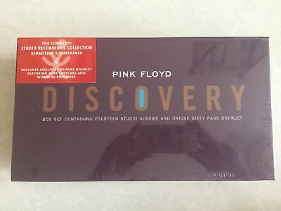 NEW PINK FLOYD DISCOVERY 16 CD BOX SET SEALED FREE SHIPPING!! Box Set!!