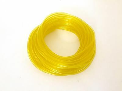50 FT Premium Clear Yellow Fuel Line, Vinyl Fuel Tubing, Gas Engines 3/32 X 3/16