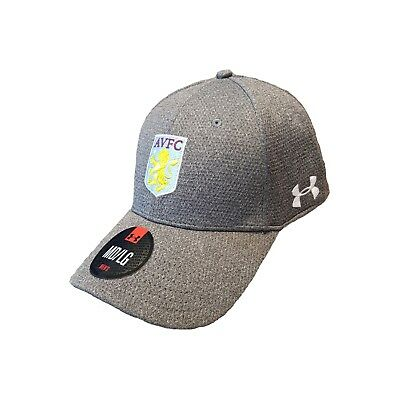 Aston Villa Mens Under Armour Blitzing Training Cap 2017-18 NEW Supporters Hat