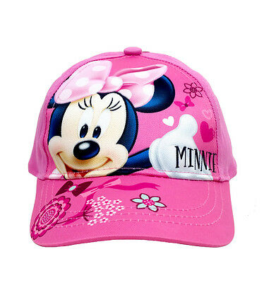 Disney Minnie Mouse Girls Baseball Hat Cap for Kids