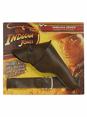 Indiana Jones - Indiana Jones Belt with Gun and Holster - One-Size