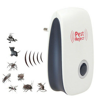 New Ultrasonic Pest Reject Electronic Magnetic Repeller Mosquito Insect Killer
