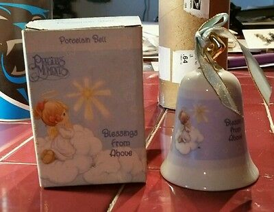 Precious Moments Blessings from Above Porcelain Bell