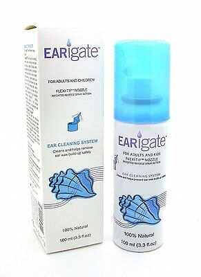 Earigate Ear Cleaning System 100ml - 100% Natural