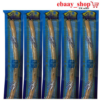 Miswaak Natural Tooth Brush Miswak (Sewak Arak) Meswak Siwak Peelu) Natural UK