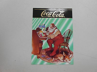 1995 Coca-Cola series 4 card S-31! Santa Claus ad from 1966! NM/MN and RARE!