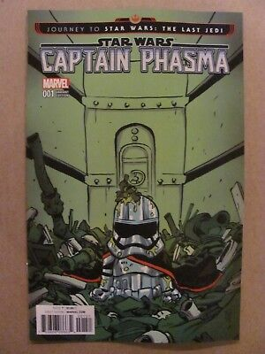 Journey to Star Wars The Last Jedi Captain Phasma #1 Skottie Young Variant 9.6
