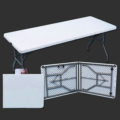 Heavy Duty Folding Trestle Table Picnic Camping Banquet Party BBQ 2.5FT 4FT 6FT