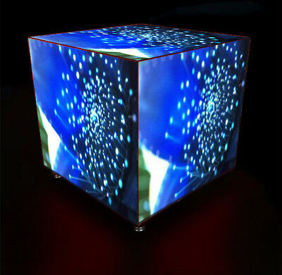 LED Video Cube 3D Pixel Pitch 5mm Indoor or Outdoor Coffee Table LAN W-Fi