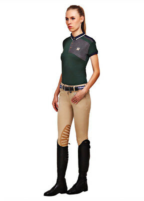 George H Morris Collection Ladies Add Back Knee Patch Breeches