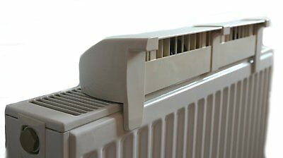 Low Power Radiator Fan for home radiator - More airflow, low noise level