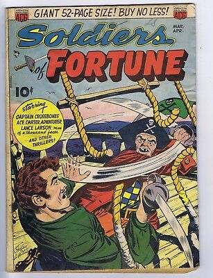 Soldiers of Fortune #1 ACG Pub 1951