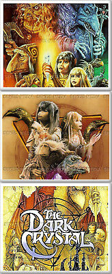 Dark Crystal Fridge Magnet 50mm x 35mm