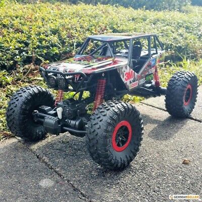 rc auto monster truck 1 10 9023 rot picclick ch. Black Bedroom Furniture Sets. Home Design Ideas