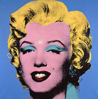 Andy Warhol Marilyn Monroe canvas print giclee12X12 reproduction