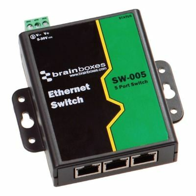 Brainboxes Sw-005 Ethernet 5Port Switch