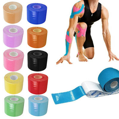 5M Waterproof Kinesiology Sports Muscles Care Elastic Physio Therapeutic Tape