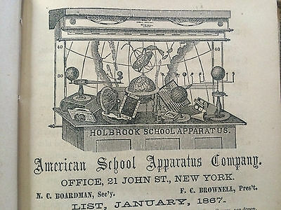 Teacher's Guide to Illustration Manual to Accompany Holbrook's School Apparatus