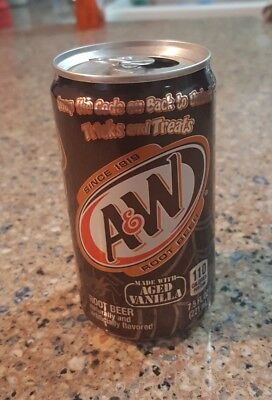 Special Edition Halloween A&W Root Beer Mini Can