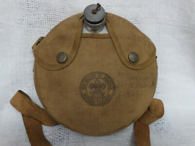 """Vintage Boy Scouts of American Canteen 7 3/4"""""""