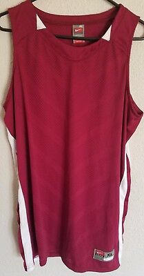 Nike Womens Stock Longhorns Basketball Practice Jersey Maroon Size XL NWT