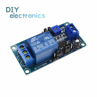 12V DC Relay Switch Module Automotive Turn on/Turn off Power-Delay Circuit