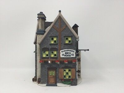 Dept. 56 The Heritage Collection Dickens Village Series Kingsford's Brew House