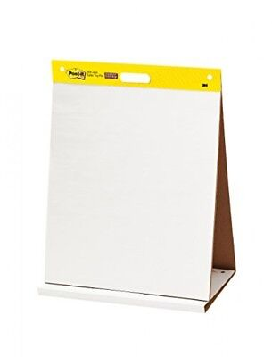 Postit Tabletop Easel Pad, 20 x 23Inches, White, 20Sheets/Pad