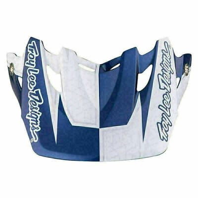 Troy Lee Designs Tld Se3 Helmet Visor Corse 2 Navy Mx Motocross Dirt Bike Moto