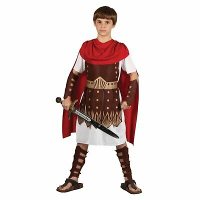 Small Boys Roman Centurion Costume for Toga Party Rome Sparticus Fancy Dress