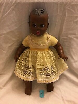 Vintage 1979 Gerber Baby Doll GERBER Products MOVING EYES 17""
