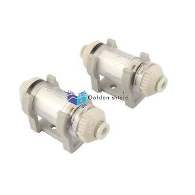 2 Pcs ZFC100-04-B In Line Vacuum Filter for 4mm OD Tube