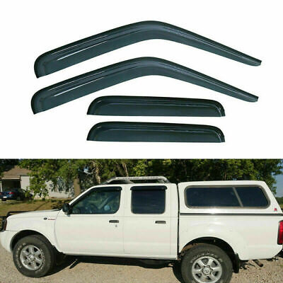 Sunroof Moon Roof Visor 1080mm Dark Smoke For 2005-2016 Nissan Frontier Crew Cab