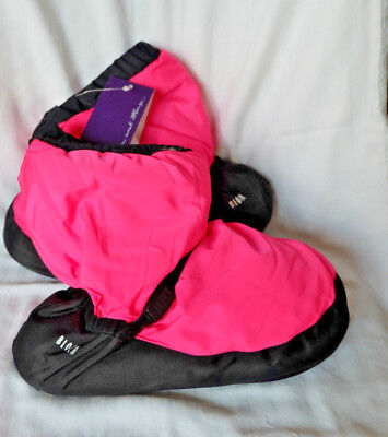Bloch Boots Warm Up Booties Dance IM009 New with Tags Hot Pink Size Small
